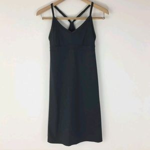 Athleta Grey Shorebreak Racerback Swim Dress